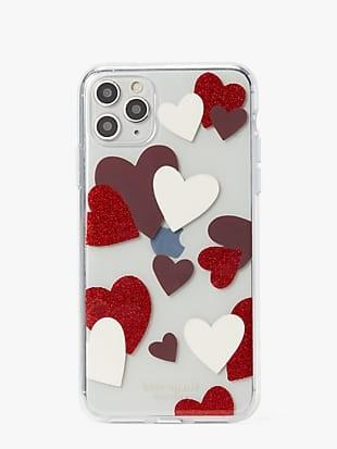 celebration hearts iphone 11 pro max case