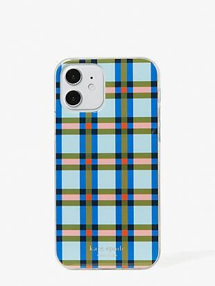 plaid iphone 12/12 pro case