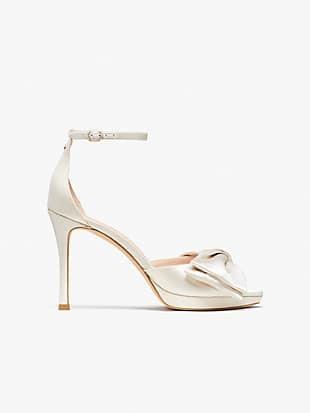 bridal bow sandals