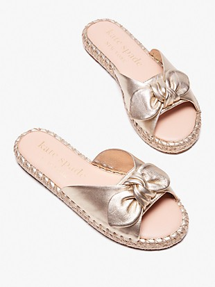saltie shore espadrille slide sandals