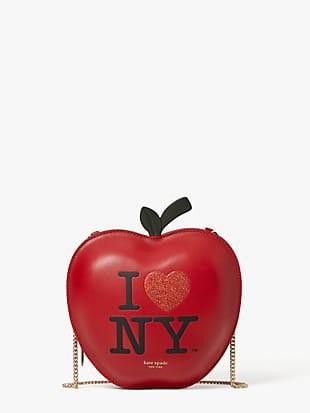 i love ny x kate spade new york big apple crossbody