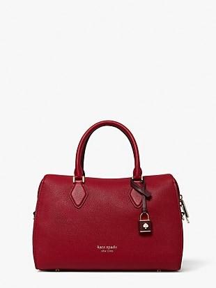 zip code colorblocked medium satchel