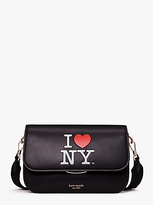 i love ny x kate spade new york buddie medium shoulder bag