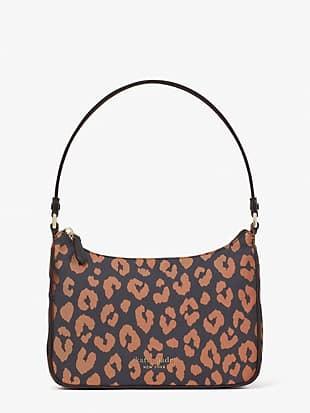 the little better sam leopard small shoulder bag