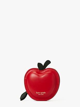 on a roll 3d apple coin purse