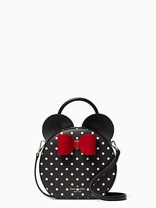 disney x kate spade new york minnie mouse crossbody bag