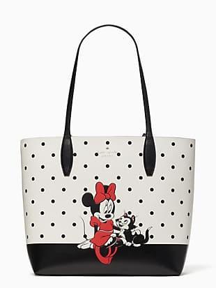 disney x kate spade new york minnie mouse tote bag