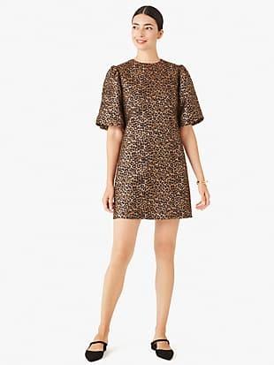 leopard taxi dress