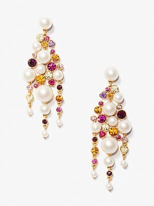 pearl caviar statement earrings