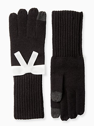 grosgrain bow bow glove