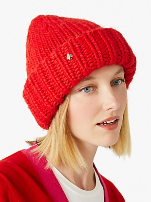 hand-knit beanie