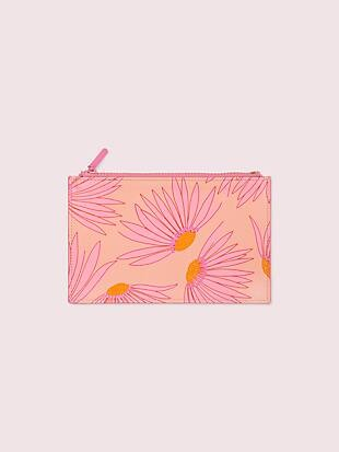 falling flower pencil pouch