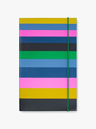 enchanted stripe take note large notebook