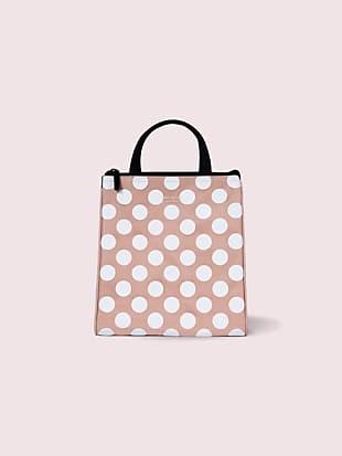 jumbo dot lunch bag