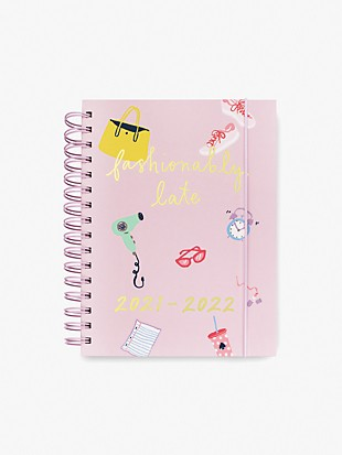 fashionably late large 17-month planner