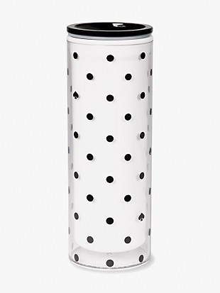black spade dot thermal mug