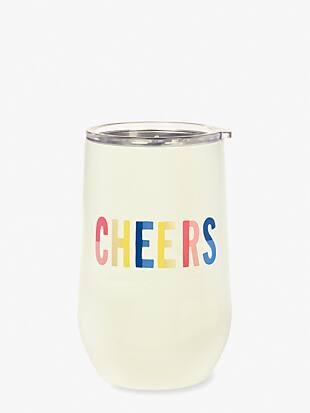 cheers stainless steel wine tumbler