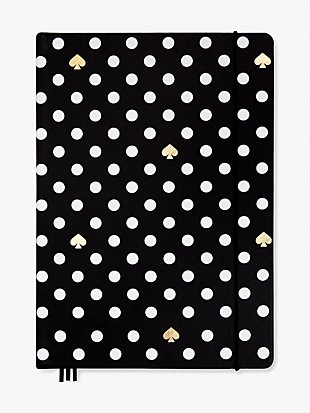 polka dot take note extra large notebook