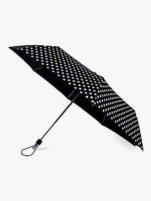 polka dot travel umbrella