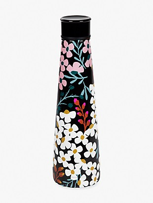 Kate spade fall floral stainless steel water bottle
