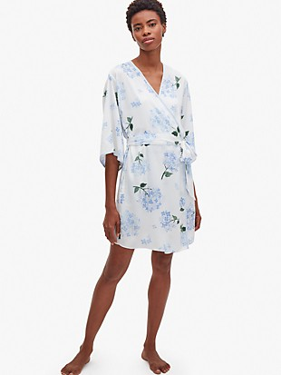 hydrangea robe
