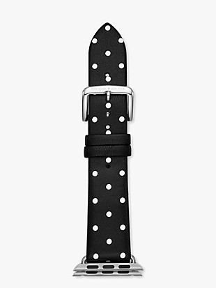 black dot leather 38/40mmband for apple watch®