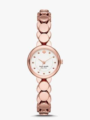 monroe scallop bracelet watch
