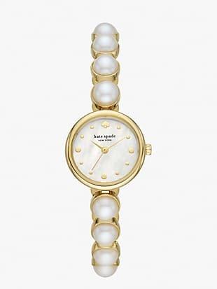 monroe pearl bracelet watch
