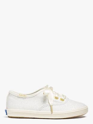 keds kids x kate spade new york champion glitter toddler sneakers