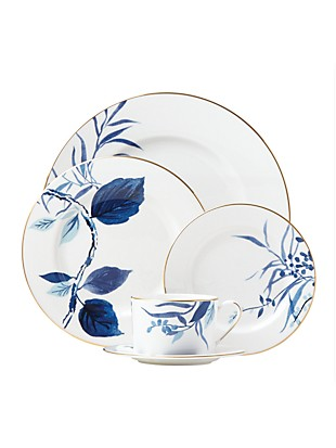 birch way navy 5 piece place setting