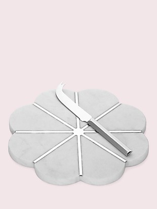 gramercy cheese board with knife