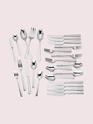 park circle 45-piece flatware set