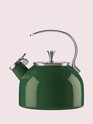 dark green tea kettle