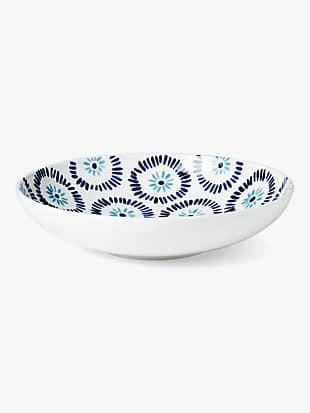 floral way low serving bowl