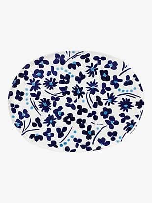 floral way platter
