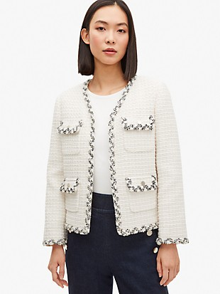 flora tweed jacket