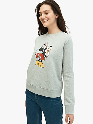 kate spade new york x minnie mouse sweatshirt