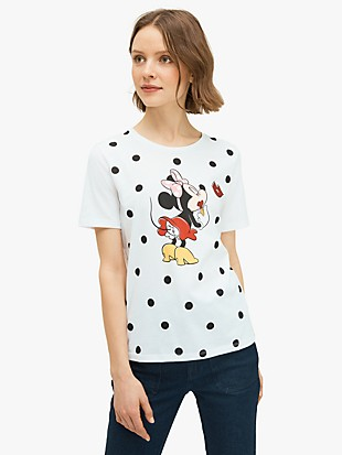 kate spade new york x minnie mouse tee