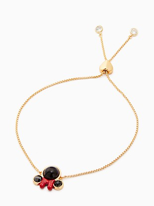disney x kate spade new york minnie slider bracelet