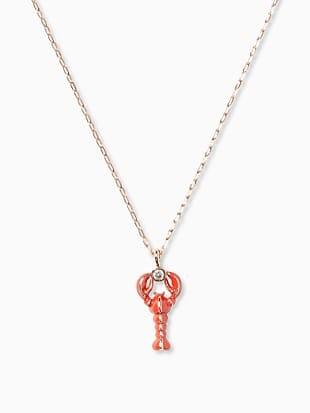 love lobster mini pendant