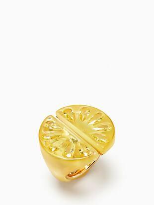 tutti fruity lemon ring