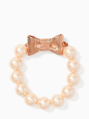 all wrapped up in pearls bracelet