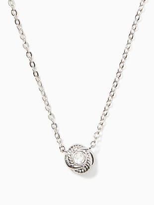 infinity & beyond knot mini pendant