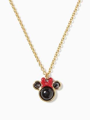 disney x kate spade new york minnie mini pendant