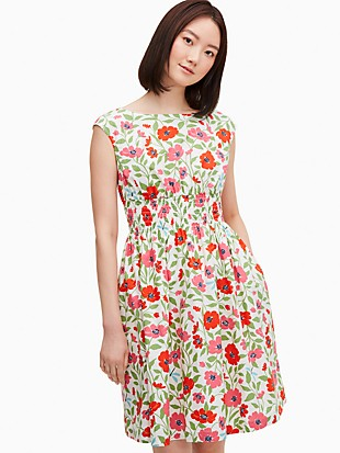 bold garden blooms blaire dress