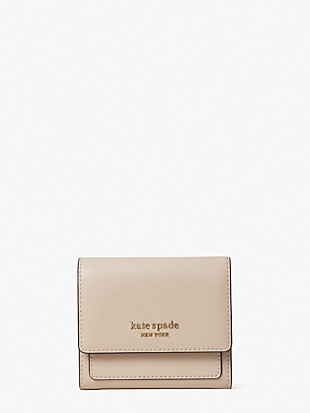 booked trifold flap wallet