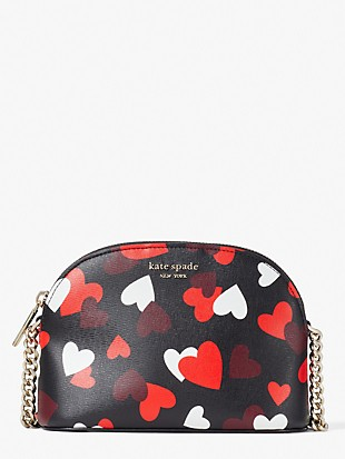 spencer celebration hearts small dome crossbody