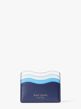 puffy wave cardholder
