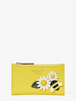 buzz small slim bifold wallet