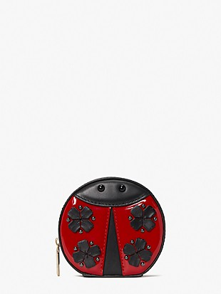 lady bug dots 3d lady bug coin purse